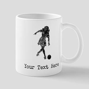 Vintage Woman Bowler (Custom) Mugs