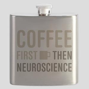 Coffee Then Neuroscience Flask