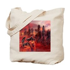 Wolves Of Future Passed Tote Bag
