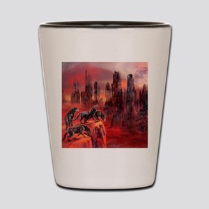 Wolves Of Future Passed Shot Glass