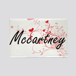 Mccartney Artistic Design with Hearts Magnets