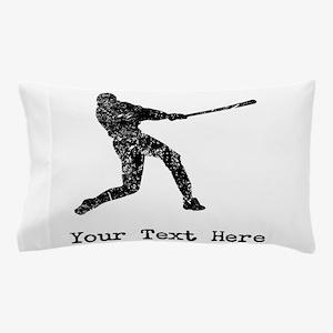 Vintage Baseball Player (Custom) Pillow Case