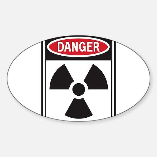 Danger Radiation Decal