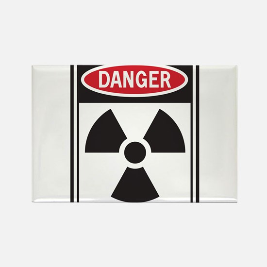 Danger Radiation Magnets