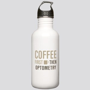 Coffee Then Optometry Stainless Water Bottle 1.0L