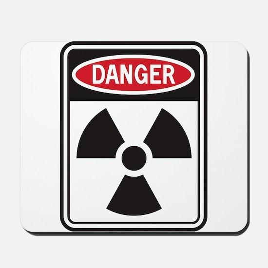 Danger Radiation Mousepad