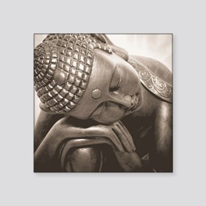 "Thai Buddha Square Sticker 3"" x 3"""