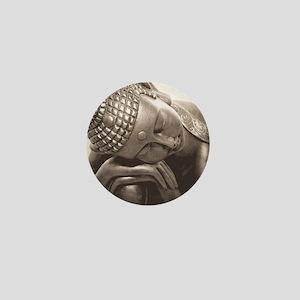 Thai Buddha Mini Button