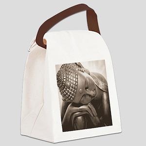 Thai Buddha Canvas Lunch Bag