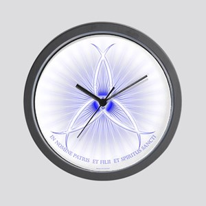 Ichthus Trinity Wall Clock