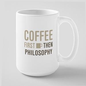 Coffee Then Philosophy Mugs