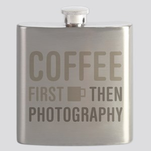 Coffee Then Photography Flask