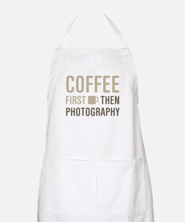 Coffee Then Photography Apron
