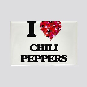 I love Chili Peppers Magnets