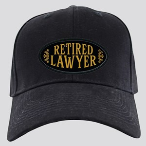 Retired Lawyer Black Cap