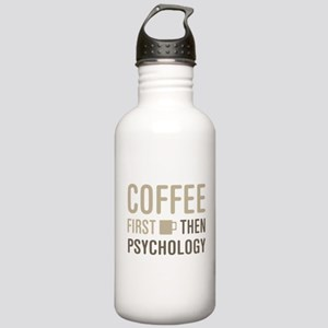 Coffee Then Psychology Stainless Water Bottle 1.0L