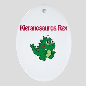 Kieranosaurus Rex Oval Ornament