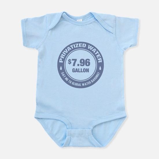 No Global Water Barons! Infant Bodysuit