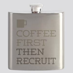 Coffee Then Recruit Flask