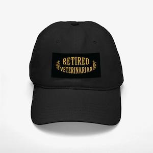 Retired Veterinarian Black Cap