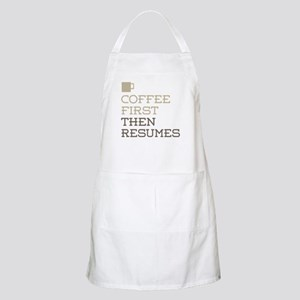 Coffee Then Resumes Apron