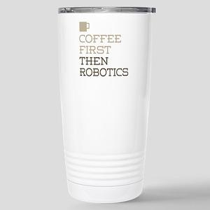 Coffee Then Robotics Stainless Steel Travel Mug
