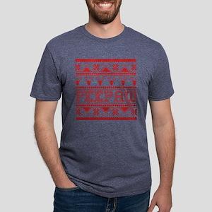 Christmas Ugly Xmas Sweater Peepaw T-Shirt
