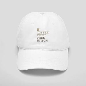 Coffee Then Stitch Cap