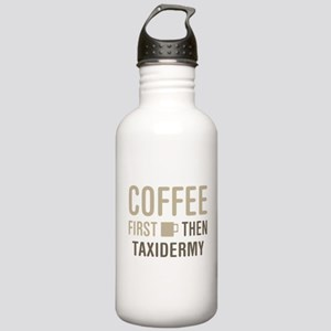 Coffee Then Taxidermy Stainless Water Bottle 1.0L
