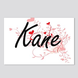 Kane Artistic Design with Postcards (Package of 8)