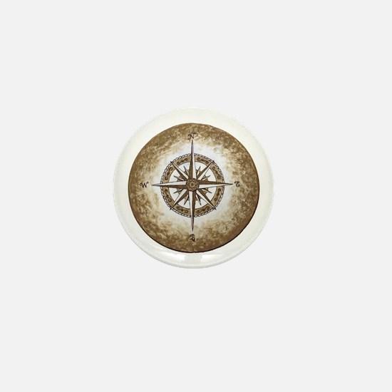 Spirit Compass Mini Button