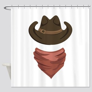 Cowboy Outlaw Shower Curtains
