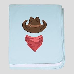 Cowboy baby blanket