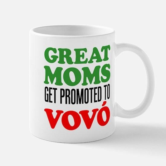 Promoted To Vovo (Grandma) Drinkware Mugs