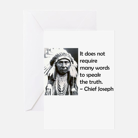 Truth Quote Greeting Card