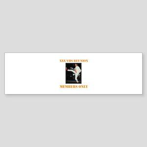 XXX VHS Sticker (Bumper)
