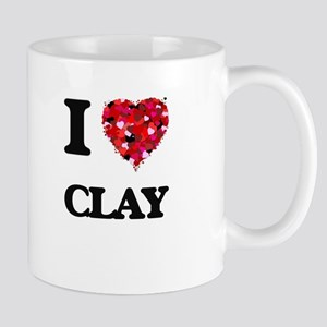 I love Clay Mugs