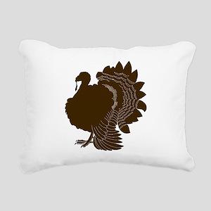 Turkey Rectangular Canvas Pillow