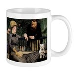 Westy in Manet's painting Mugs
