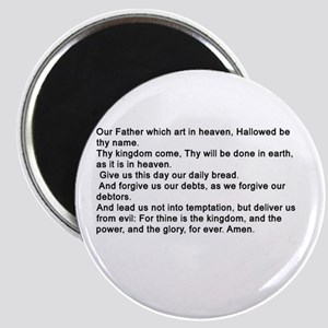 the Lord's Prayver Magnets