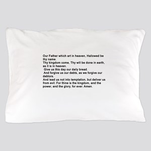 the Lord's Prayver Pillow Case