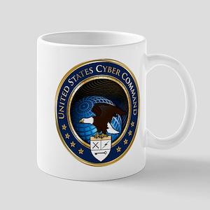 US Cyber Command Emblem Mug
