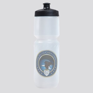 US Cyber Command Emblem Sports Bottle
