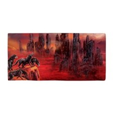 Wolves Of Future Passed Beach Towel