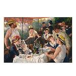 Cat in Renoir's painting Postcards (Package of 8)