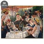 Cat in Renoir's painting Puzzle