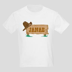 Janae western Kids Light T-Shirt