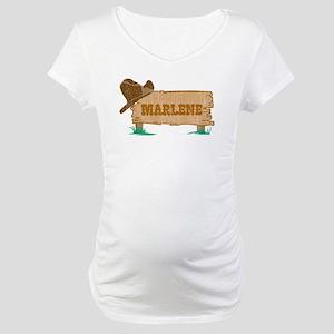 Marlene western Maternity T-Shirt