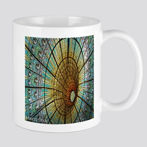 Barcelona Stained-Glass Mugs