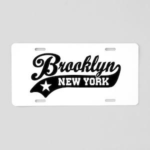 Brooklyn New York Aluminum License Plate